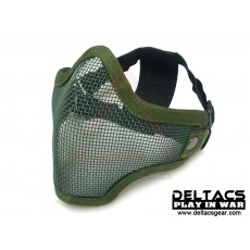 Deltacs CM01 Metal Mesh Lower Half Mask - OD Green